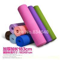 8mm thick yoga mat yoga mat widening beginners yoga mat slip fitness mat shipping