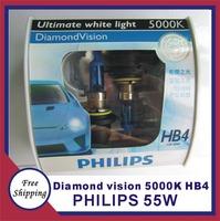 Orignal germany diamond vision 5000K HB4  Halogen Bulbs auto bulb headlight bulb free shipping