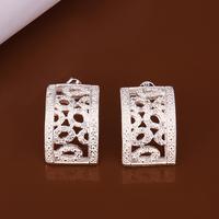 sterling silver jewelry hoop earring earrings, small hoop earrings free shipping LKNSPCE367