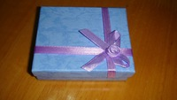 The new European small holiday gift boxes gift box jewelry box multicolor