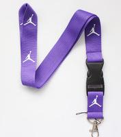New 10 pcs Purple The Brand Sport Logo lanyard/Neck Strap/Employee's card hanging rope/Lanyard Free shiping