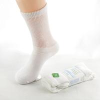 men women diabetic socks white wholesale 12 pairs/lot
