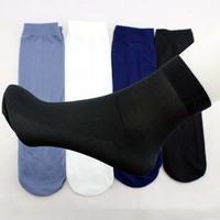 Men's summer socks stockings men thin breathable socks 4 colors black grey blue white wholesale 100 pairs/lot