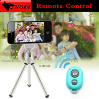 Bluetooth Remote Control Shutter for iPhone 4s 5s 5c 5 Samsung S3 S4 Note 2 3 iPad Android mobile phones,50 pcs Wireless shutter