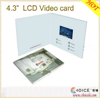 """4.3"""" lcd video player greeting card module,hdmi video capture card from china"""