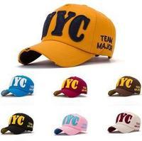 Fashion Baseball Cap, Sports Cap, Sun-shading Hat Male Women's Summer Sun Hat Casual Caps Unisex Caps NYC Hats G4031