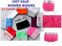 4 pcs/Lot High Quality WOMEN Boxers Women's Boxer Shorts Sexy Underwear Women Panties For Woman