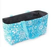 Retail Portable mummy bag seperation storage tote  bag for mother buggy bag lining separated nappy bag