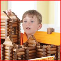 100% Wood tree house treehaus 165pcs building blocks wood blocks