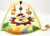 Free Shipping super soft big lion infant misical mat baby blanket baby playing mat child`s play baby games