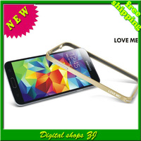 wholesales High quality Aluminium Metal Bumper Frame Ultra Thin premium shell For Samsung Galaxy S5 I9600 Free shipping