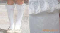 20Pcs = 10 Pairs Baby Girls Socks Children Accessories Ruffle Lace Boot Knee High Sock Leg Warmers Flower Girls Socks