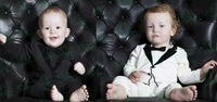 New 2014 Baby Rompers For 1-3 Years Baby's Clothing Set Baby Gentleman Clothes Sets