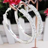 2014 New Designer Women Hoop Earrings/Brand Fashion Jewelry For Women/Vintage Women Earrings