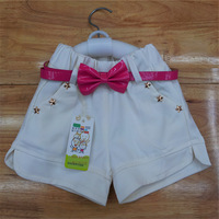 Free shipping han edition female children cotton pants, shorts