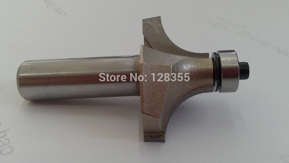 """New Industry Quality HSS Round Over Edging Router Bit - 1"""" 25.4mm Diameter - 1/2"""" 12.7mm Shank(China (Mainland))"""