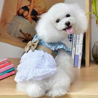 Puppy  pet dog cotton dress  ,Summer  Cute lady dress For Dog Cat ,Pet Dress
