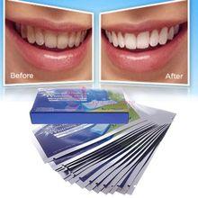 2014 New 28pcs Professional Teeth Whitening Strips Tooth Bleaching Whiter Whitestrips Set # 55187