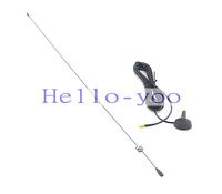 Free shipping 1PC X  VHF 136-174Mhz & UHF 400-470Mhz Dual Band Aerial MCX Plug 3dbi gains Magnet Base Antenna RG174 3M