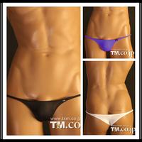 TM brand mens sexy bikini briefs underwear tight thin mini gay men underwear low rise men's sex erotic undies