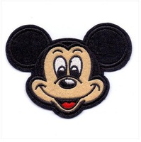 Free Shipping~10 pcs/Lot x Embroidered    Mickey-0003  Sew On or Iron On Patch Applique Badge