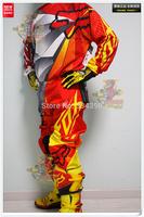 2014-FOX-180-COMBO Series Standard Athletics version Racing Suit Set Off - road Set Jacket And Pants
