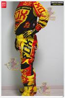 2014-FOX-360-COMBO Racing Suit Set Top Athletics version Off - road Motorcycle Set Racing Suit Jacket And Pants