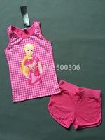 girl cute cartoon summer suit barbie clothing set