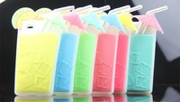 MOQ1pcs Newest Victoria/'s Drink cups Silicone case, custom designed for the summer for iPhone 5 5s 4 4s Free Shipping Promotion