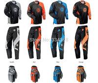 2013 Moose Qualifier Racing Suit Set Off - road Motorcycle Set Racing Suit Jacket And Pants