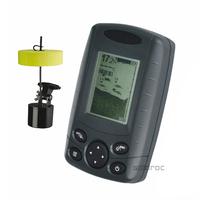 English Menu Language FF168A Portable Boat Fish Finder Depth Sonar Sounder Alarm Transducer Fishfinder 240ft Free Shipping