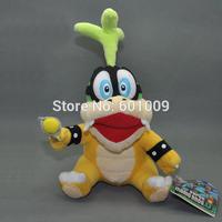 "Free Shipping New Super Mario Bros. Plush Doll Stuffed Toy IGGY Koopa 6"""