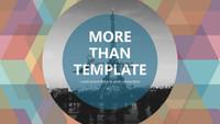 [PPT Design] Hexagons+ Fashion+Suprice yor Boss  PPT Sample