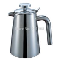 Home restaurant double walls stainless steel 350ml tea pot water pot milk pot coffee pot
