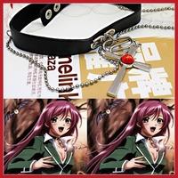 Funny cooldeal 1 Pcs Cosplay Rosario + Vampire RosaVam Moka Akashiya Cross Necklace wholesale Fashion style