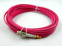 10 g lc to lc duplex multimode OM4 fiber optic patch cord