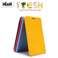 Original Nillkin Brand Fresh Series Flip Leather Case For Lenovo S5000 7.0 ,with retail package 10pcs/lot Free shipping