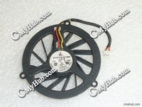Used Free Shipping FOR CF0550-B10M-C010 Cooling Fan for DC 5V 0.25A Bare Fan for 3-wire 3-pin connector cooling fan