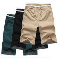 FREE SHIPPING Men's Casual Sport Trousers Training Baggy Jogging Short Pants Cotton Beach