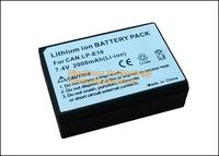 2Pcs/Lot Brandnew Digtal Battery LP-E10 LPE10 E10 for Canon EOS Rebel T3 T5 / EOS 1100D 1200D / Kiss X50 Cameras