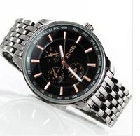 SINOBI watch,Three small circle, sports men watch ,watches men luxury brand