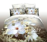 2014 newly 3d bedding sets bedclothes 3D bedding set duvet cover set BED LINEN BEDSHEET