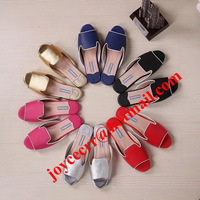 us4-us10 Fashion 100% Genuine Leather Flat Sandals 2014 Summer P Brand Designer Women Shoes,Beach Slippers Black Gold Red Sliver
