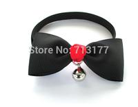 2014Pet Accessories Pet BowTie Neckties ,Cat Adjustable Collar Bowtie,Puppy Bow Tie Neckties pure color series,8 Colors,8pcs/lot
