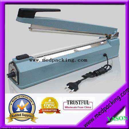hand impulse heat plastic bag sealer /poly bag sealer/coffee bag sealer(sealing length 400mm) YS-AS400-3(China (Mainland))