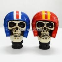 Personalized fashion Modified Car Gear Head skull knob High Quality Resin Manual general