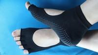 10paris The new summer fashion cotton antibacterial gel instep fingers slip yoga socks toe socks