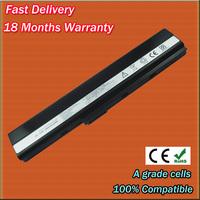 70-NXM1B2200Z battery for Asus A42 A52 X42 K42 K52 X52 laptop battery 90-NYX1B1000Y