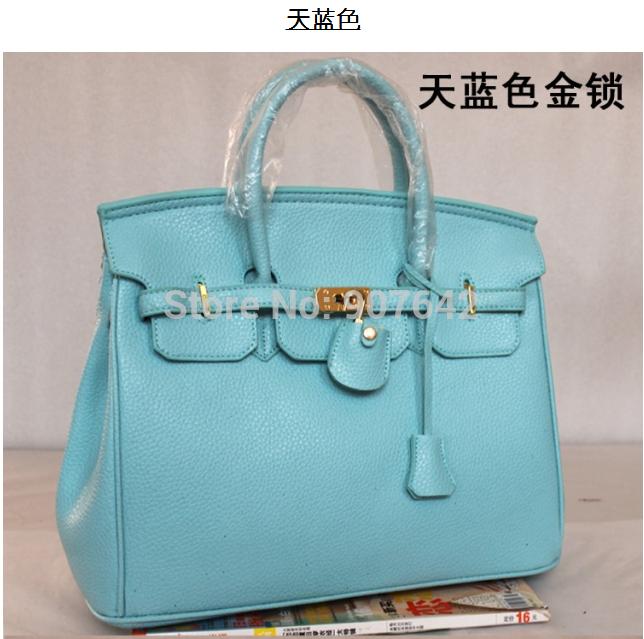 2014 NEW FASHION BLACK BAG HANDBAGS SHOULDER BAGS TOTES WITH GOLD HARDWARE AC09214(China (Mainland))