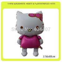 Hello Kitty 68*116CM  aluminium foil balloon